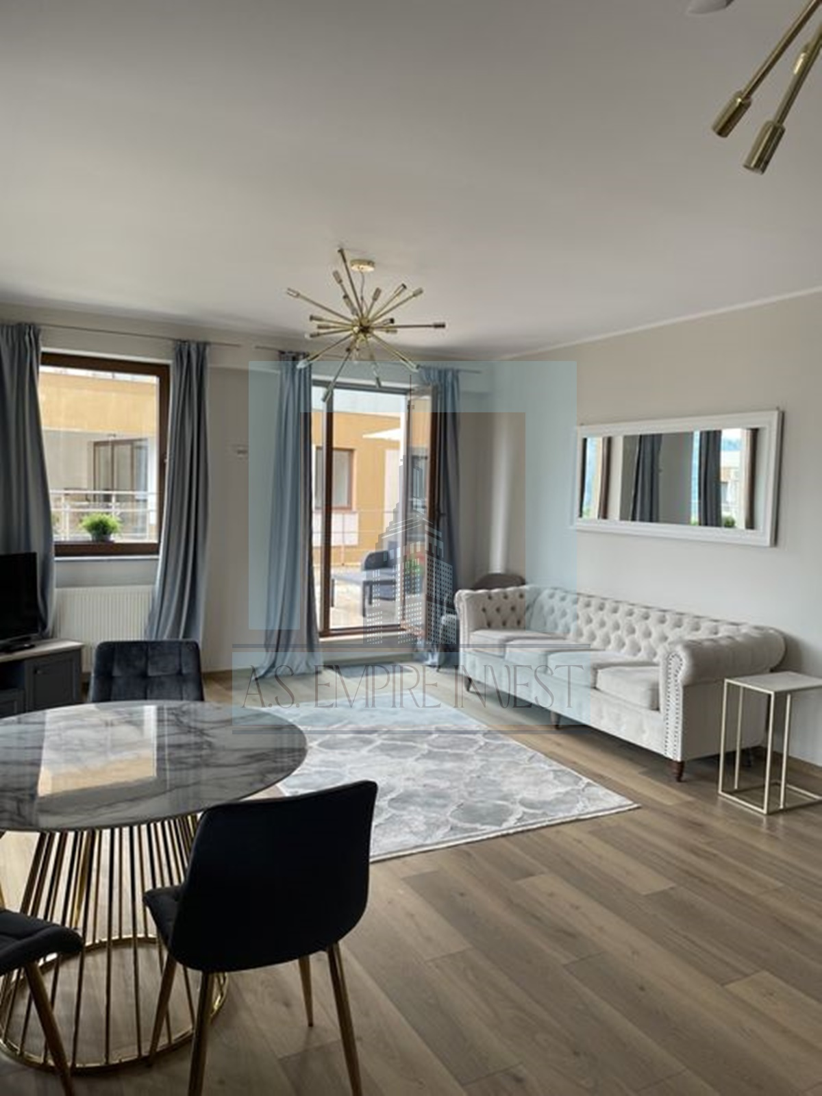 Apartament 3 camere mobilat-utilat – zona Seasons Residence